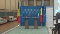 Conferință de presă susținută de Ministrul Finanțelor Publice, Eugen Teodorovici, și vicepreședintele Băncii Europene de Investiții, Andrew McDowell