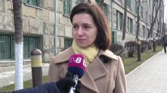 Maia Sandu a fost citată la CNA în calitate de martor după denunțul penal depus la Procuratură cu privire la tarifele la gazele naturale