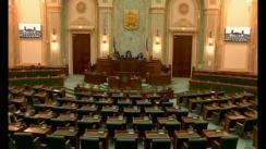 Ședința in plen a Senatului României din 21 februarie 2018