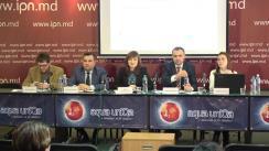 """Conferință de presă organizată de Centrul """"Parteneriat pentru Dezvoltare"""" cu tema """"Prețul inegalității din Moldova. Cum fiecare femeie pierde anual 11 417 lei."""""""