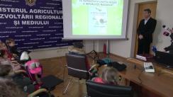 """Lecția deschisă organizată de Ministerul Agriculturii, Dezvoltării Regionale și Mediului cu genericul """"Noutățile Cărții Roșii"""""""