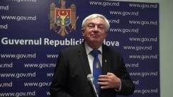 Declarațiile lui Gheorghe Duca după ședința Guvernului Republicii Moldova din 22 februarie 2018