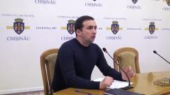 Instruire pentru grupurile de inițiativă ce vor să depună proiecte prin mecanismul de bugetare participativă în municipiul Chișinău