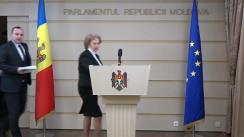 Declarația fracțiunii PSRM în timpul ședinței Parlamentului Republicii Moldova din 23 februarie 2018