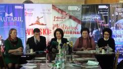 """Conferință de presă privind desfășurarea Festivalului Internațional de Muzică """"Mărțișor – 2018"""""""
