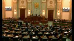 Ședința in plen a Senatului României din 26 februarie 2018