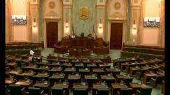 Ședința in plen a Senatului României din 28 februarie 2018