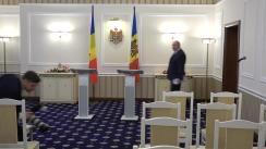 Conferință de presă susținută de Prim-ministrul Republicii Moldova, Pavel Filip, și Prim-ministrul României, Viorica Dăncilă