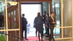 Întâmpinarea Prim-ministrului României, Viorica Dăncilă, de către Prim-ministrul Republicii Moldova, Pavel Filip