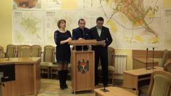 Briefing susținut de reprezentanții societății civile privind noi numiri și concursuri pentru posturile vacante din Primărie
