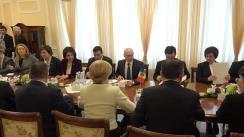 Întrevedere în plen a celor delegațiilor Republicii Moldova și României
