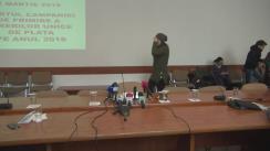 Conferință de presă susținută de ministrul Agriculturii și Dezvoltării Rurale, Petre Daea