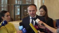 Declarațiile lui Andrian Candu după evenimentul organizat de Banca Națională a Moldovei dedicat monedei naționale la cea de-a 25-a aniversare
