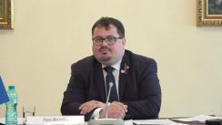Conferință de presă prilejuită de jumătate de an de activitate în Republica Moldova a șefului Delegației Uniunii Europene în Republica Moldova, Peter Michalko