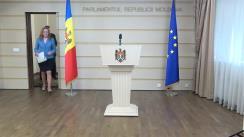Declarațiile fracțiunii PCRM în timpul ședinței Parlamentului Republicii Moldova din 1 martie 2018