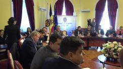 Ședința săptămânală a serviciilor primăriei Chișinău din 5 martie 2018