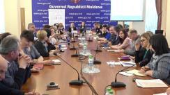 """Semnarea memorandumurilor de cooperare """"Școala mea – responsabilizare socială pentru reforma educației din Republica Moldova"""""""