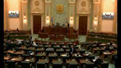 Ședința in plen a Senatului României din 5 martie 2018