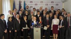 Conferință de presă organizată de Partidul Platforma Demnitate și Adevăr de anunțare a candidatului pentru funcția de primar al municipiului Chișinău