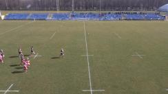 Meciul de Rugby între CSM București - CSA Steaua București. Cupa României, etapa 7