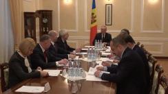 Ședința Consiliui Suprem de Securitate din 7 martie 2018