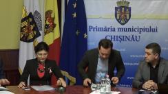 Ședința săptămânală a serviciilor primăriei Chișinău din 12 martie 2018