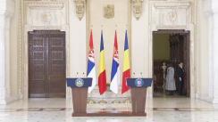 Declarație de presă susținută de Președintele României, Klaus Iohannis, și Președintele Republicii Serbia, Aleksandar Vučić