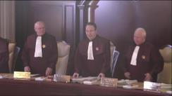 Ședința publică a Curții Constituționale a României din 13 martie 2018
