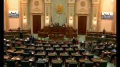 Ședința în plen a Senatului României din 12 martie 2018