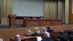 """Plenara Partidului Comuniștilor din Republica Moldova cu subiectul """"Unionismul - amenințarea asupra independenței și a statului Republica Moldova"""""""