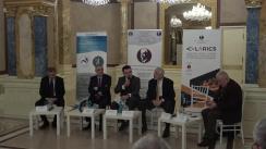 """Dezbaterea organizată de Fundația Universitară a Mării Negre cu tema """"Moscova nu crede în lacrimi. Dar nici America. Cum va arăta frontiera estică a României?"""""""