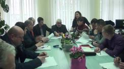 Ședința extraordinară a Comisiei pentru gospodăria locativ-comunală, energetică, servicii tehnice, transport, comunicații și ecologie a Consiliului municipal Chișinău