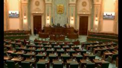 Ședința în plen a Senatului României din 14 martie 2018