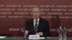 """Conferință de presă organizată de Centrul Social-Politic European cu tema """"O nouă viziune asupra alegerilor parlamentare - ultima șansă pentru Republica Moldova"""""""