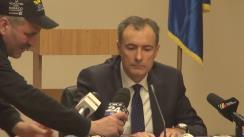 Declarații după ședința comisiei comune permanentă a Camerei Deputaților și Senatului pentru exercitarea controlului parlamentar asupra activității SRI