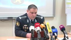 Conferință de presă cu ocazia prezentării hărții consecințelor consumului de alcool pe teritoriul Republicii Moldova, elaborată de Poliția Națională