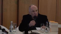 """Evenimentul """"Lumea în care am trăit"""". Gabriel Liiceanu în dialog cu Ioan Stanomir"""