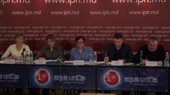 """Conferința de presă cu tema """"Disensiuni între puterea executivă și cea deliberativă din cadrul autorităților locale Colonița"""""""