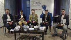 """Conferința cu tema """"Politica pentru tineri și tinerii pentru politică – mai multe șanse și un viitor mai bun: în Republica Moldova și în Uniunea Europeană"""""""