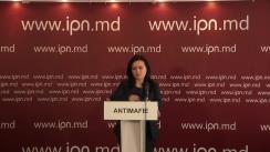 """Conferință de presă susținută de Daniela Bodrug, vicepreședinte al Mișcării Antimafie, cu tema """"Declarație de presă privind alegerile locale"""""""