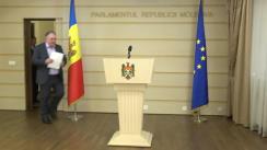 Declarațiile lui Ion Apostol in timpul ședinței Parlamentului Republicii Moldova din 16 martie 2018
