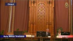 Ședința Comisiei speciale comune a Camerei Deputaților și Senatului pentru sistematizarea, unificarea și asigurarea stabilității legislative în domeniul justiției