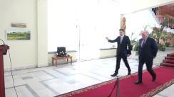 Conferință de presă susținută de Ministrul Afacerilor Externe și Integrării Europene al Republicii Moldova, Tudor Ulianovschi, și Viceministrul Afacerilor Externe al Federației Ruse, Grigorii Karasin