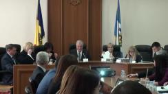 """Ședința Curții de Conturi de examinare a Raportului auditului financiar privind gestiunea economico-financiară și administrarea patrimoniului de către IPNA """"Teleradio-Moldova"""" pentru exercițiul bugetar 2016"""