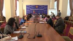 """Elaborarea Strategiei Naționale de Dezvoltare """"Moldova 2030"""": Grupul de lucru în domeniul educației, cercetării și inovării"""