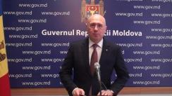 Declarațiile Prim-ministrului Republicii Moldova, Pavel Filip, după ședința Guvernului Republicii Moldova din 21 martie 2018