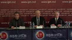 """Conferința de presă organizată de AO CPDF """"Sirius""""cu tema """"Președintele Republicii Moldova, garantul Constituției – ales contrar Constituției!"""""""