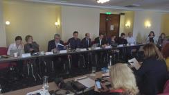 """Dezbaterea cu tema """"Lupta împotriva corupției și combaterea sărăciei. Modelul românesc versus modelul francez"""", organizată de europarlamentarul PSD, Cătălin Ivan"""