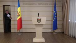 Declarațiile lui Mihai Ghimpu în timpul ședinței Parlamentului Republicii Moldova din 22 martie 2018