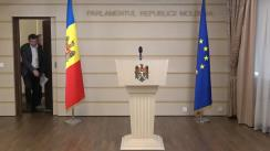 Declarațiile lui Lilian Carp  în timpul ședinței Parlamentului Republicii Moldova din 22 martie 2018